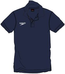 Speedo Koszulka polo, męska XS niebieska (granatowa)