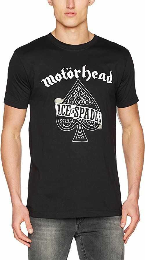 MERCHCODE Męska koszulka Motörhead Ace of Spades czarna koszulka 3XL