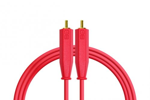 DJ TECHTOOLS Chroma Cabels kabel audio RCA-RCA 1,5m (czerwony)