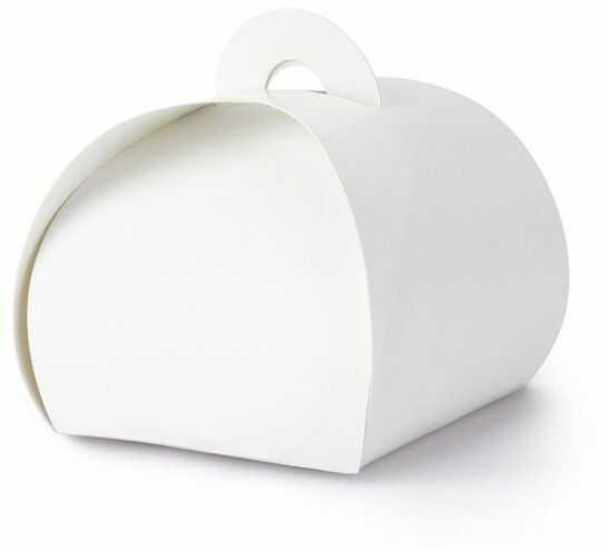 Pudełeczka dla gości Premium białe 10 sztuk PUDP23-008