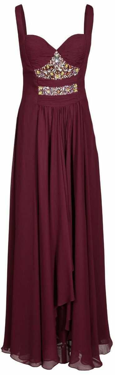 FSU702 Suknie wizytowe Sukienka BURGUND