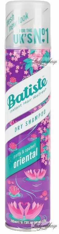 Batiste - Dry Shampoo - ORIENTAL - Suchy szampon do włosów - 200 ml