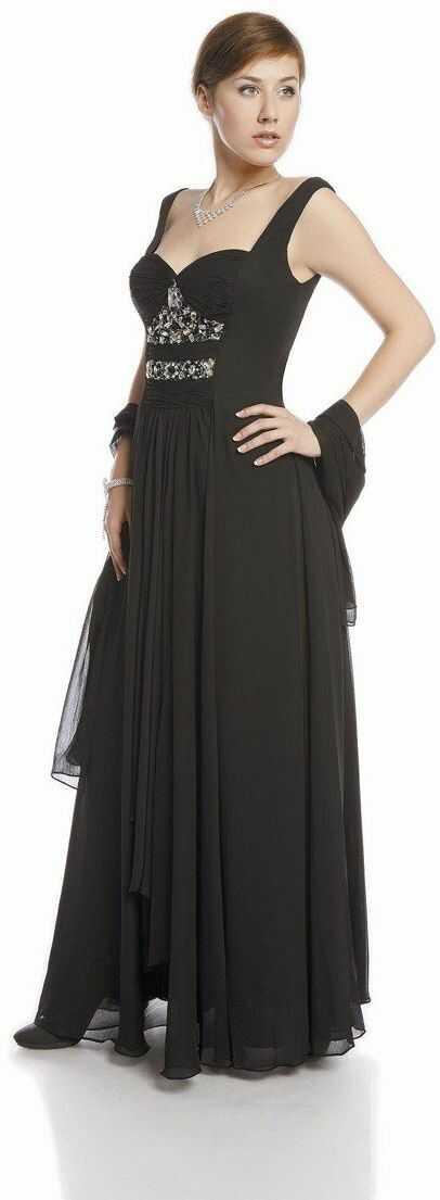 FSU702 Suknie wizytowe Sukienka CZARNY