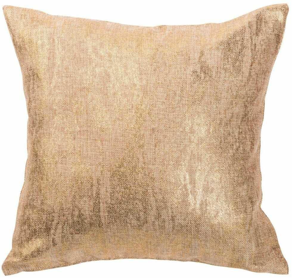 Poduszka Marble złota 45 x 45 cm Inspire