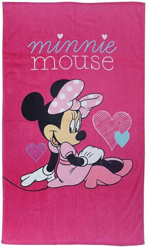 Disney Minnie ręcznik kąpielowy, różowy