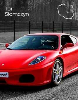 Jazda za kierownicą Ferrari F430  Tor Słomczyn