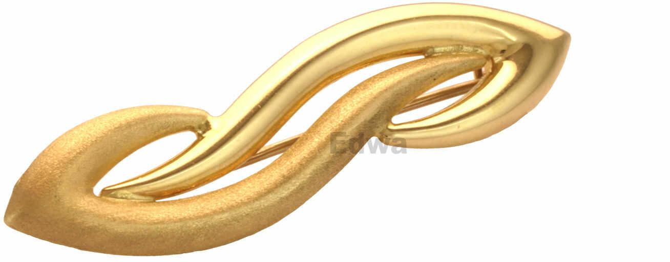 Broszka złota pr.0.585