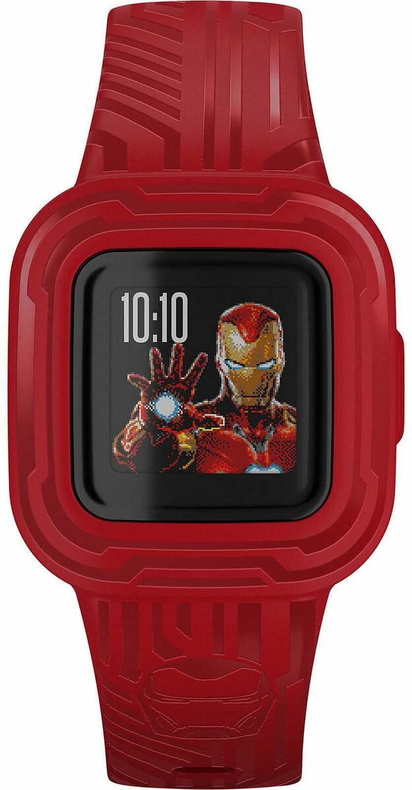 Zegarek dziecięcy Garmin Vívofit  jr. 3 Marvel Iron Man