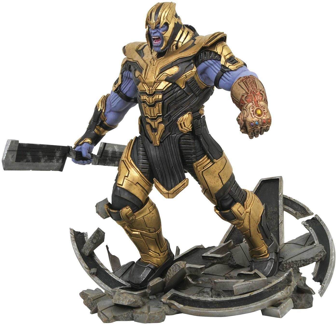 Diamond Select Toys MAY192373 Marvel Milestones Avengers 4 opancerzony Thanos statuetka