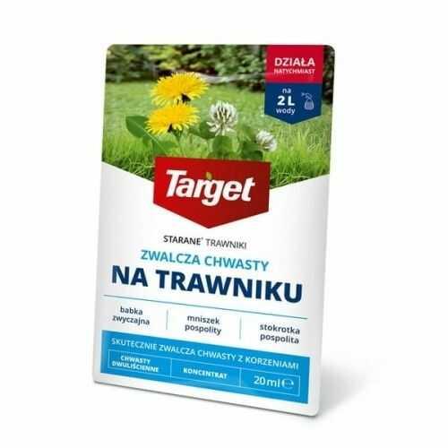 Starane trawniki  zwalcza chwasty na trawniku  20 ml target