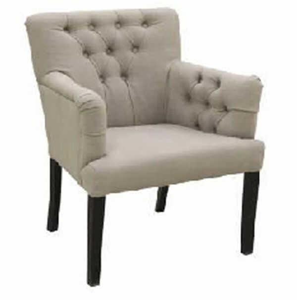 Krzesło, fotel Reno, skórzane, eko skóra, tkanina