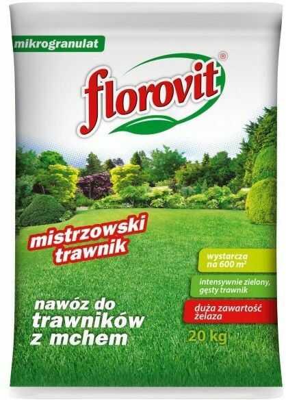 Florovit Nawóz do trawników z mchem 20kg