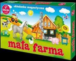 Mała farma Układanka magnetyczna ZAKŁADKA DO KSIĄŻEK GRATIS DO KAŻDEGO ZAMÓWIENIA