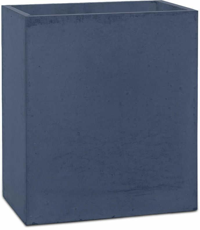 Donica betonowa LINEA S 35x22x40 grafitowy