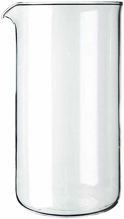 Bodum 1503-10 zaparzacz do kawy, kubek zamienny, szkło - 3 filiżanki, przezroczysty