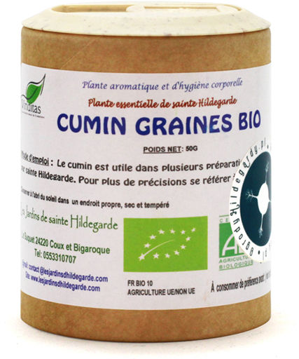 Przyprawy i zioła - Kmin rzymski nasiona Kumin 50g Bio*, - 40022