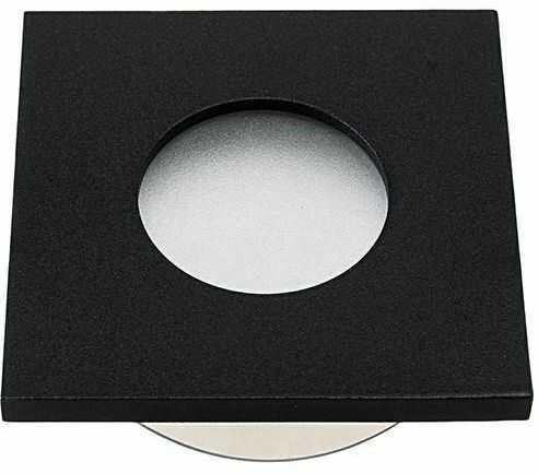 Oczko sufitowe kwadratowe IP44 Black