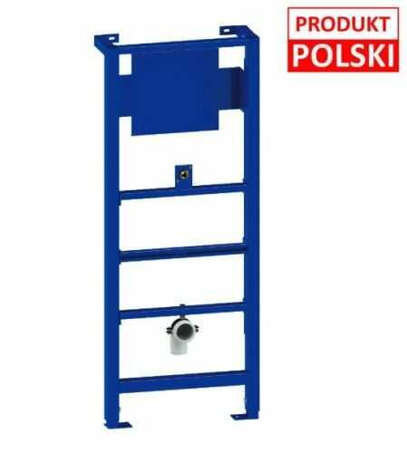 Stelaż podtynkowy do pisuaru 41cm, 118-135cm, 10 lat gwarancji Polska produkcja