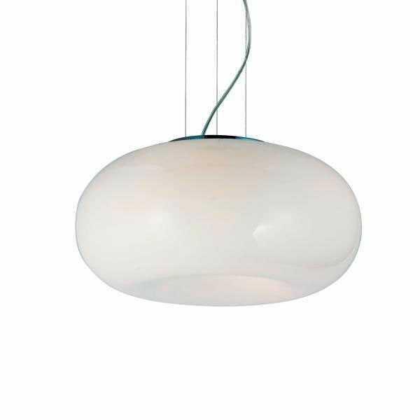 ŻARÓWKI LED GRATIS! Lampa wisząca Optima 2 AZ0205 AZzardo biała oprawa w nowoczesnym stylu