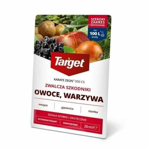 Karate zeon 050 cs  zwalcza szkodniki roślin  20 ml target