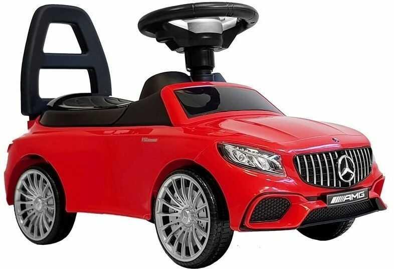 Jeździk Autko dla dzieci Mercedes AMG S65 Czerwony