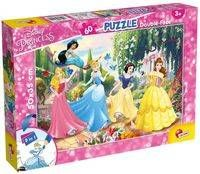 Puzzle dwustronne Plus 60 Disney Princess - DANTE