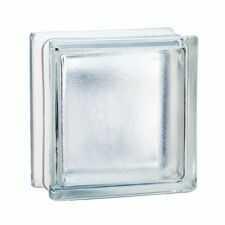 Pustak szklany 198 Clear Frosted EI15 E60 luksfer 19x19x8 cm