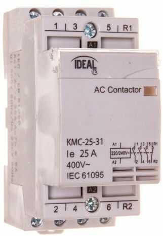 Stycznik modułowy 25A 3Z 1R 230V AC KMC-25-31 23247