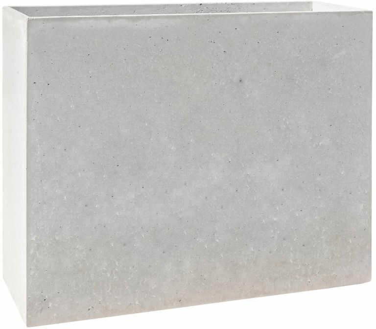 Donica betonowa MURO L 90x30x70 szary naturalny