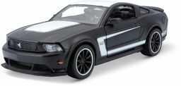 Maisto M31269 1:24 Ford Mustang, matowy czarno-biały