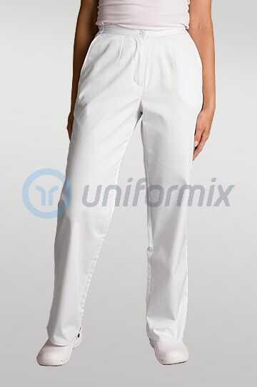 Spodnie medyczne klasyczne damskie