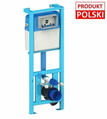 Stelaż podtynkowy do WC 18/23 cm 112-129cm,BLUE RAFA 10 lat gwarancji Polska produkcja