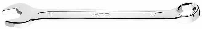 Klucz płasko-oczkowy HEX/V 17 x 210 mm 09-417