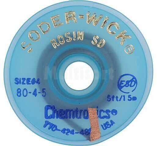 Taśma rozlutowująca CHEMTRONICS W:2,8mm L:1,5m