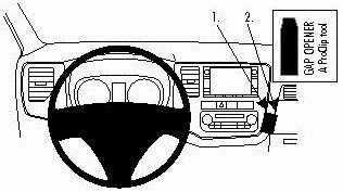 ProClip do Mitsubishi Outlander 13-19