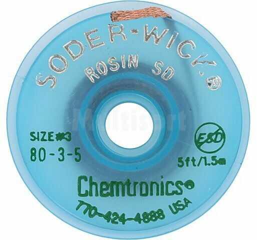 Taśma rozlutowująca CHEMTRONICS W:2mm L:1,5m