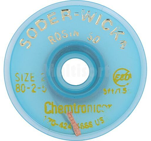 Taśma rozlutowująca CHEMTRONICS W:1,5mm L:1,5m