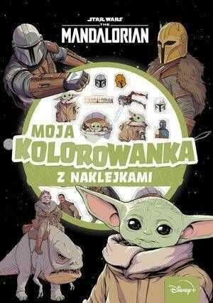 Moja kolorowanka.. Star Wars The Mandalorian - praca zbiorowa