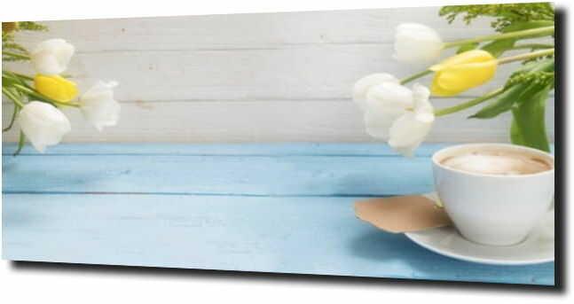 obraz na szkle, panel szklany Tulipany 14 180X60