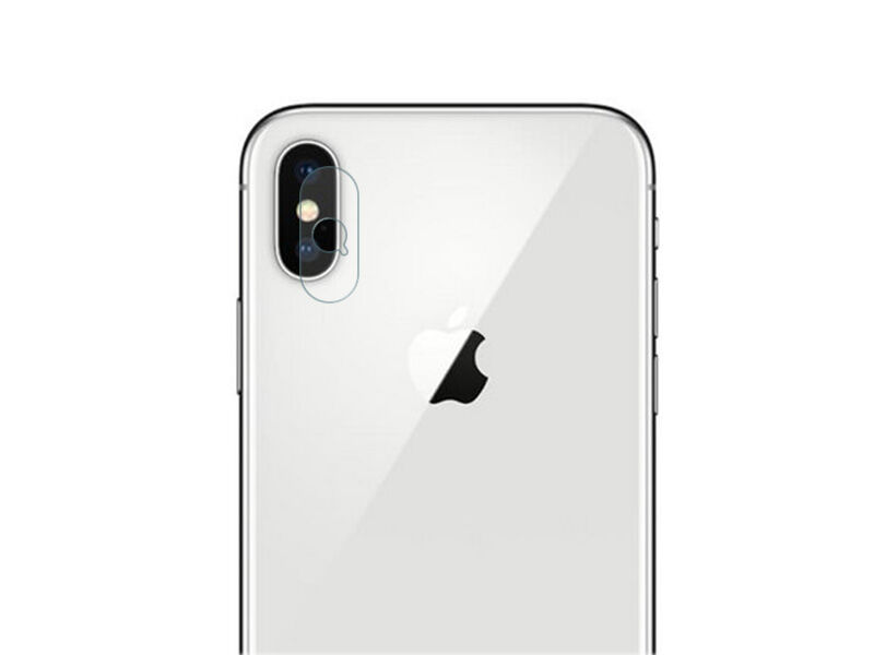 Apple iPhone X - szkło hartowane na tylny aparat telefonu Benks Camera Protection