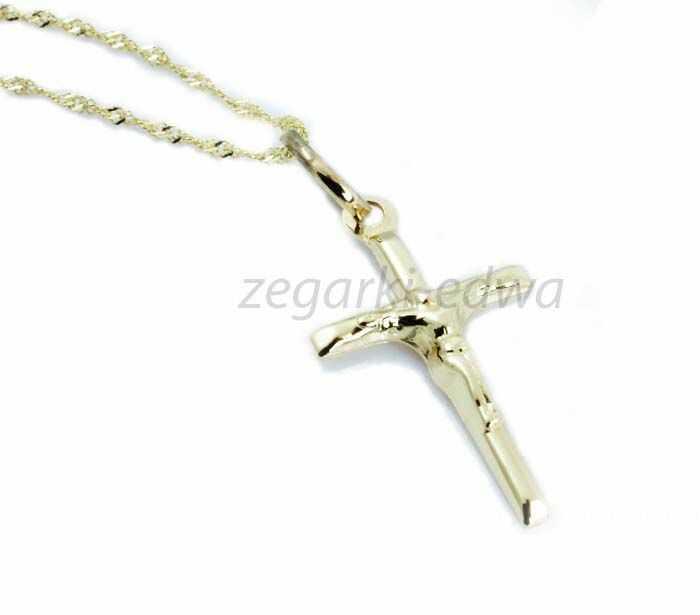 Krzyżyk złoty pr. 0.585