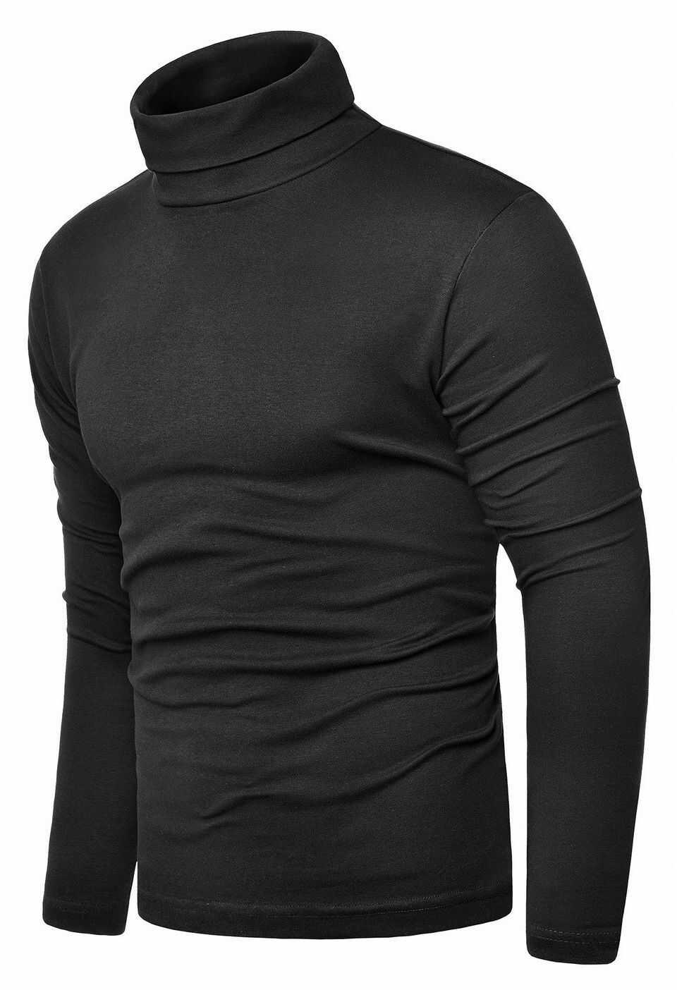 Bluza golf męski cmr6059 - czarny