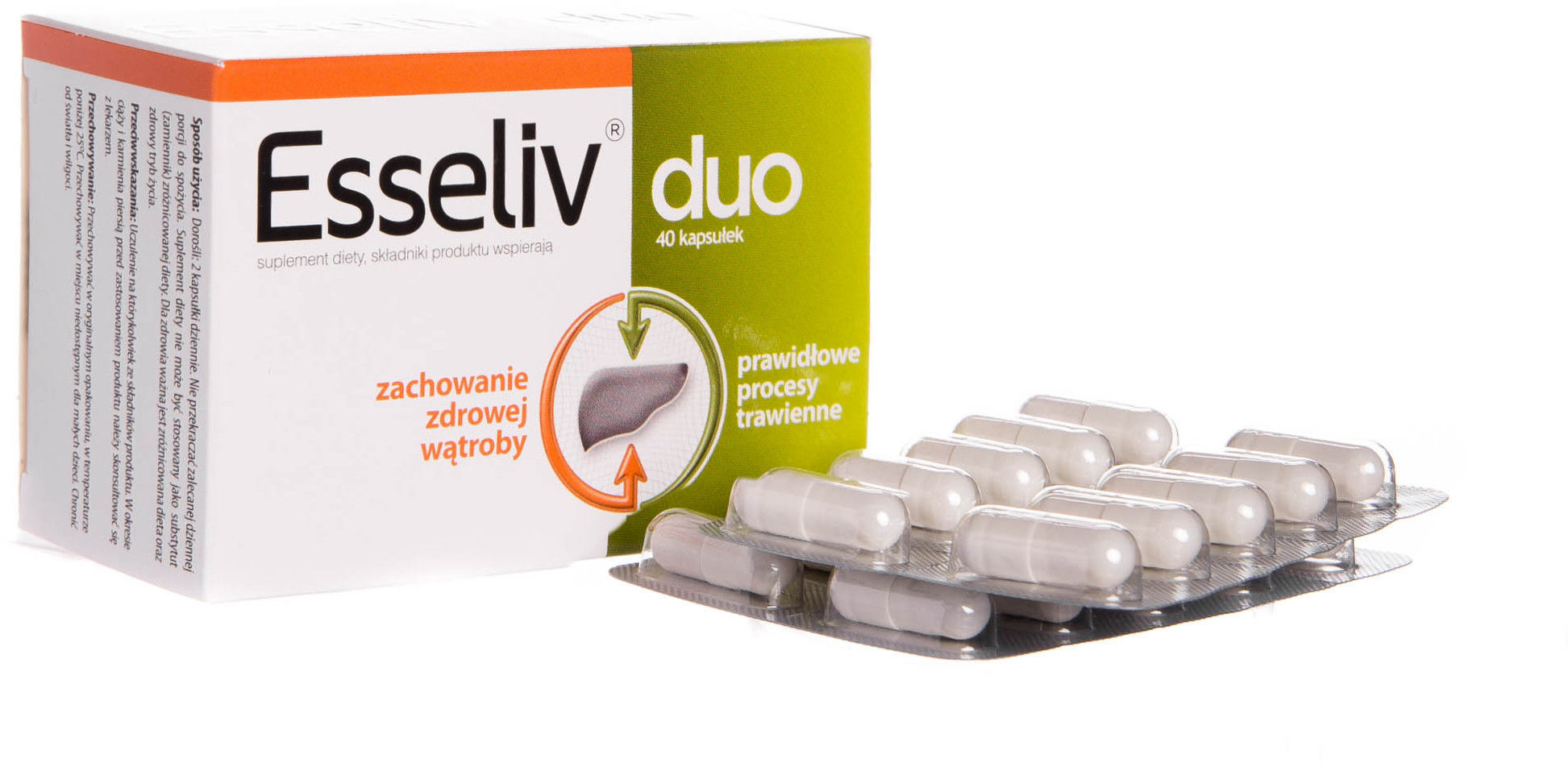Esseliv duo Suplement diety 40 sztuk