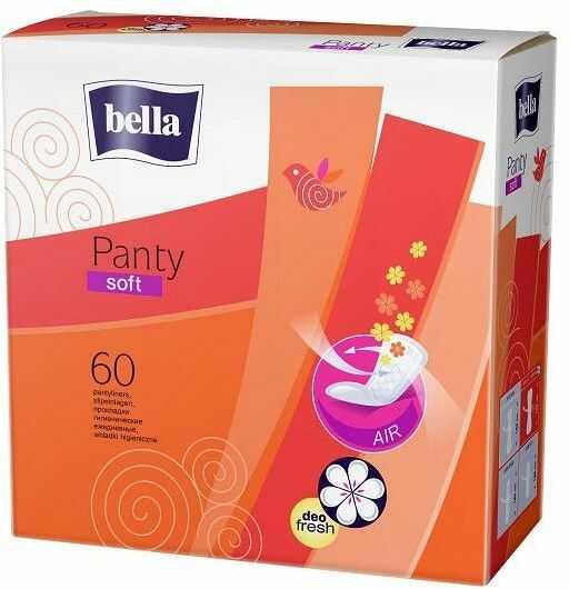 Bella Wkładki higieniczne Panty Soft Deo Fresh 60szt