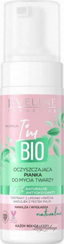 Eveline Cosmetics - I''m BIO - Oczyszczająca pianka do mycia twarzy - 150 ml