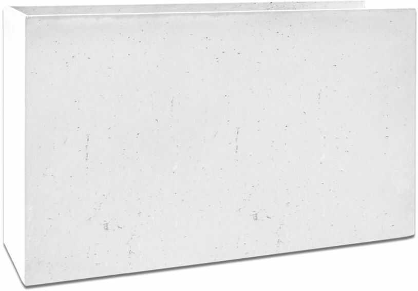 Donica betonowa MURO XL 120x30x70 biały