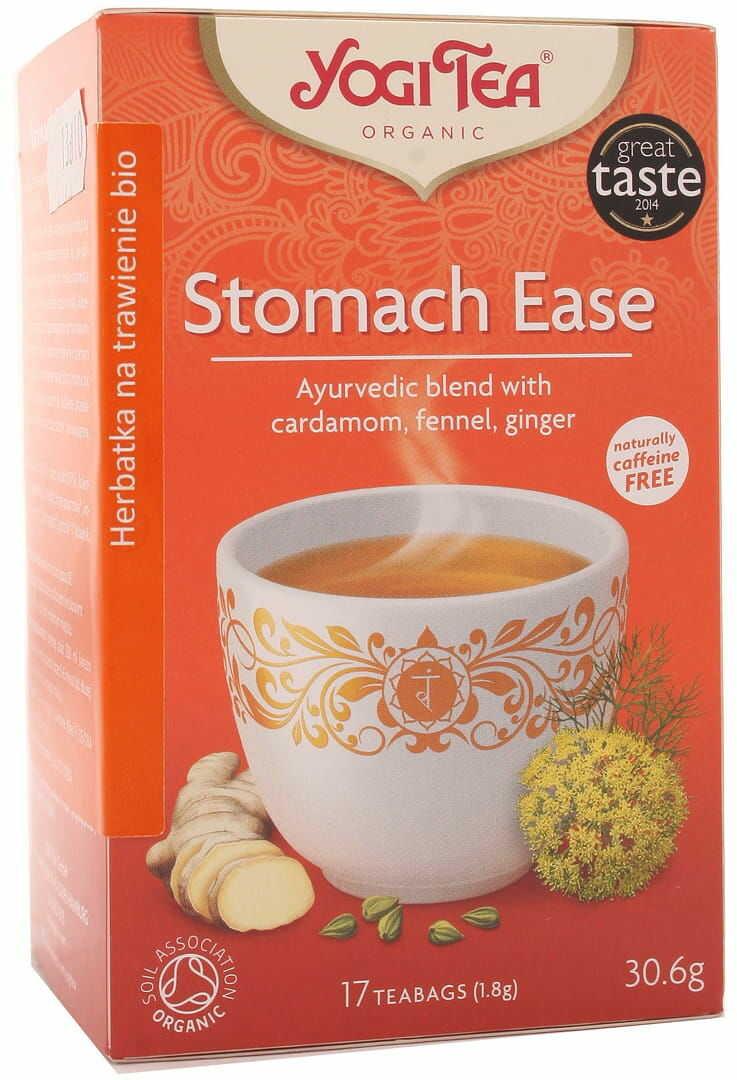 Herbatka Stomach Ease BIO - Yogi Tea - 17 torebek