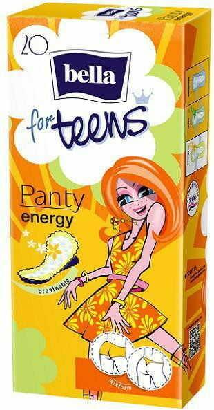 Bella Wkładki higieniczne For Teens Ultra Energy 20szt