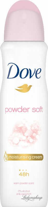 Dove - Powder Soft - 48h Anti-perspirant - Antyperspirant w aerozolu - 150 ml