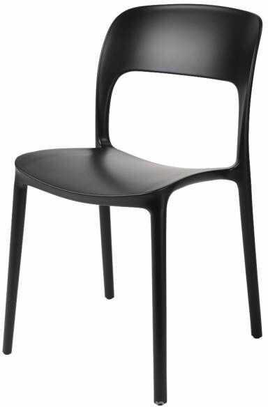 D2 Krzesło Flexi czarne